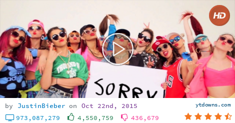 Download Justin bieber sorry videos mp3 - download Justin