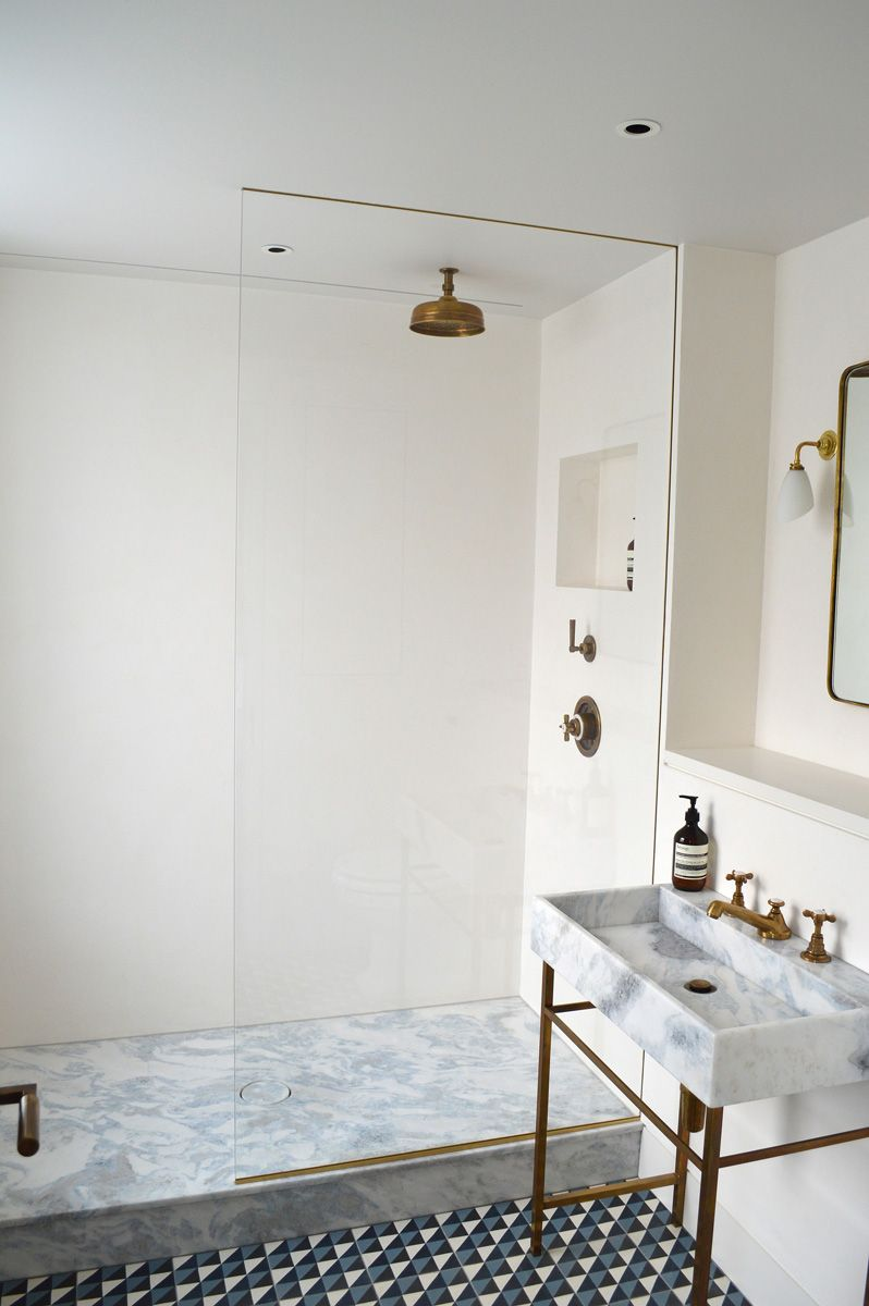 Lovely Image Result For Tadelakt And Marble In Shower