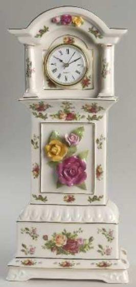 Royal Albert Old Country Roses China Grandfather Clock