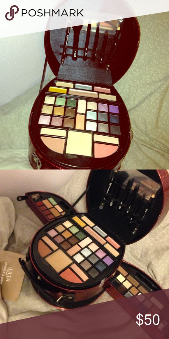 Ulta makeup kit! I don't use makeup, so this kit is still