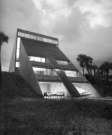 Beach House near Jacksonville, 1972 by William Morgan
