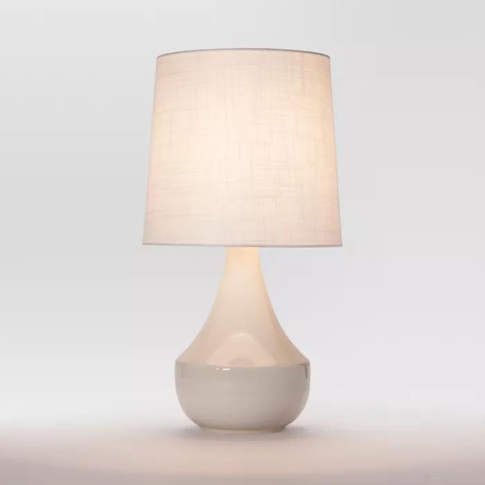 Montreal Wren Assembled Table Lamp White Project 62 In 2020 White Table Lamp Table Lamp Modern Lamp