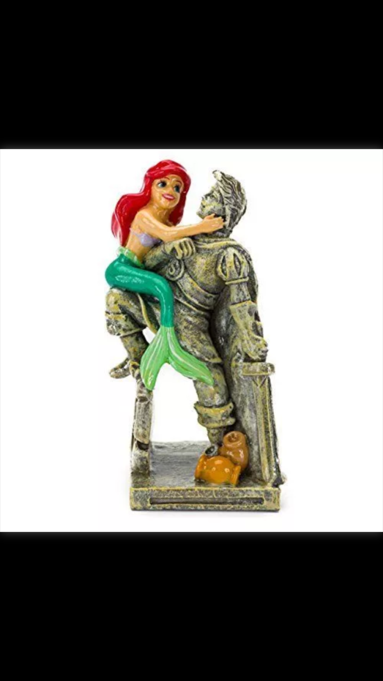 Zombie fish tank youtube - Ariel The Little Mermaid Erick Disney Fish Tank Water