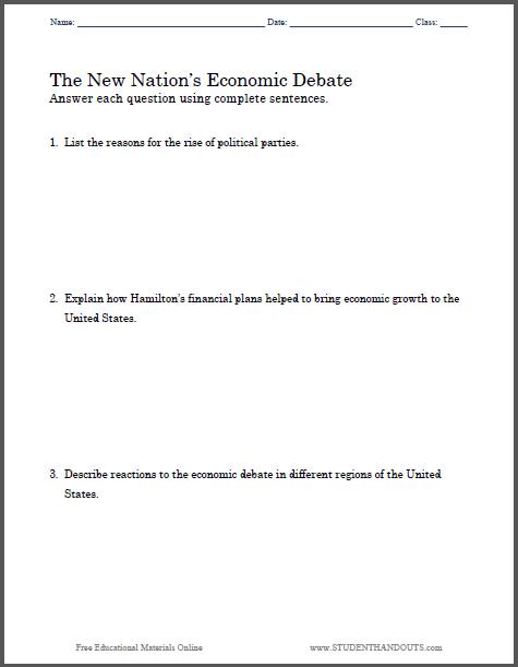 new nations economic debate essay questions   free to print pdf  new nations economic debate essay questions   free to print pdf file  high school us history