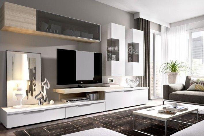 Sal n modular l 14189725 merkamueble tv units en 2019 - Muebles salon modernos ...