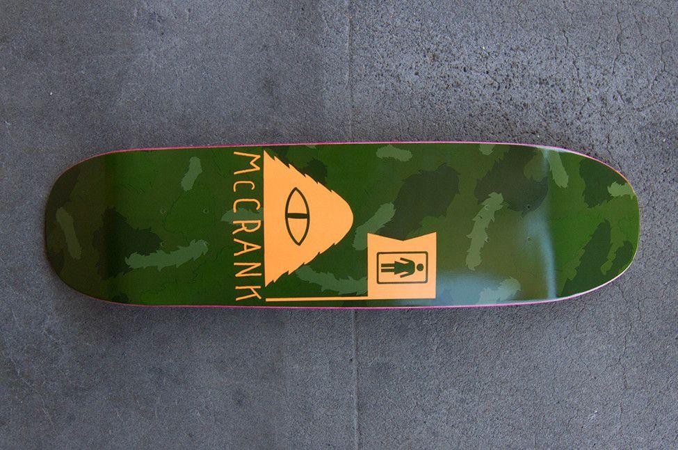Poler, PDX represent ///// Girl Skateboards Rick McCrank Cruiser Deck #skateboard #skate #deck #pdx #poler