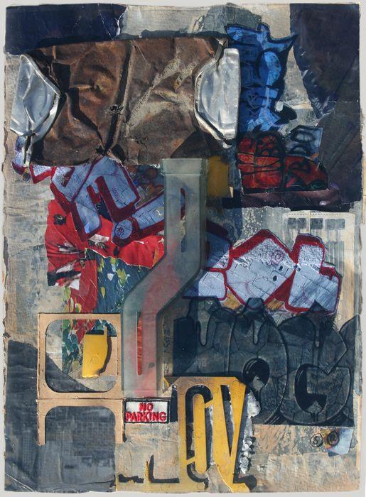 "Urban Splash by Sandra Rooney 18""x11″"
