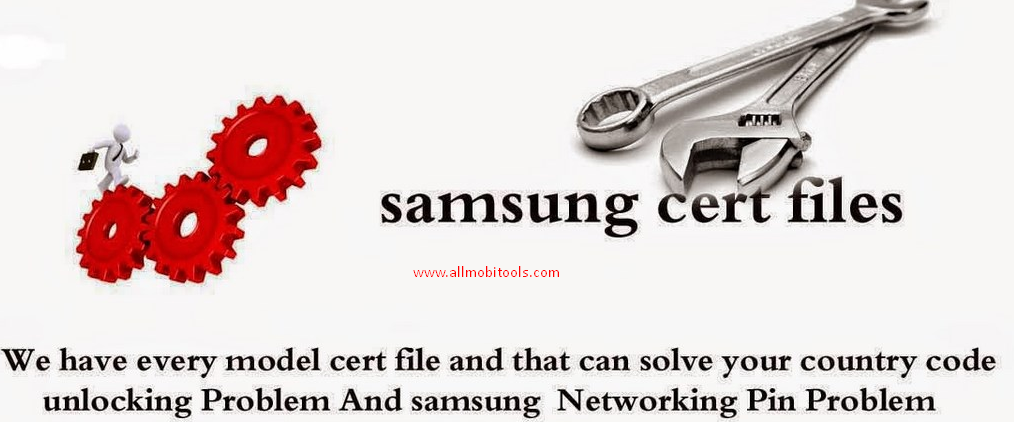 Download All Samsung Cert and QCN Files for all models