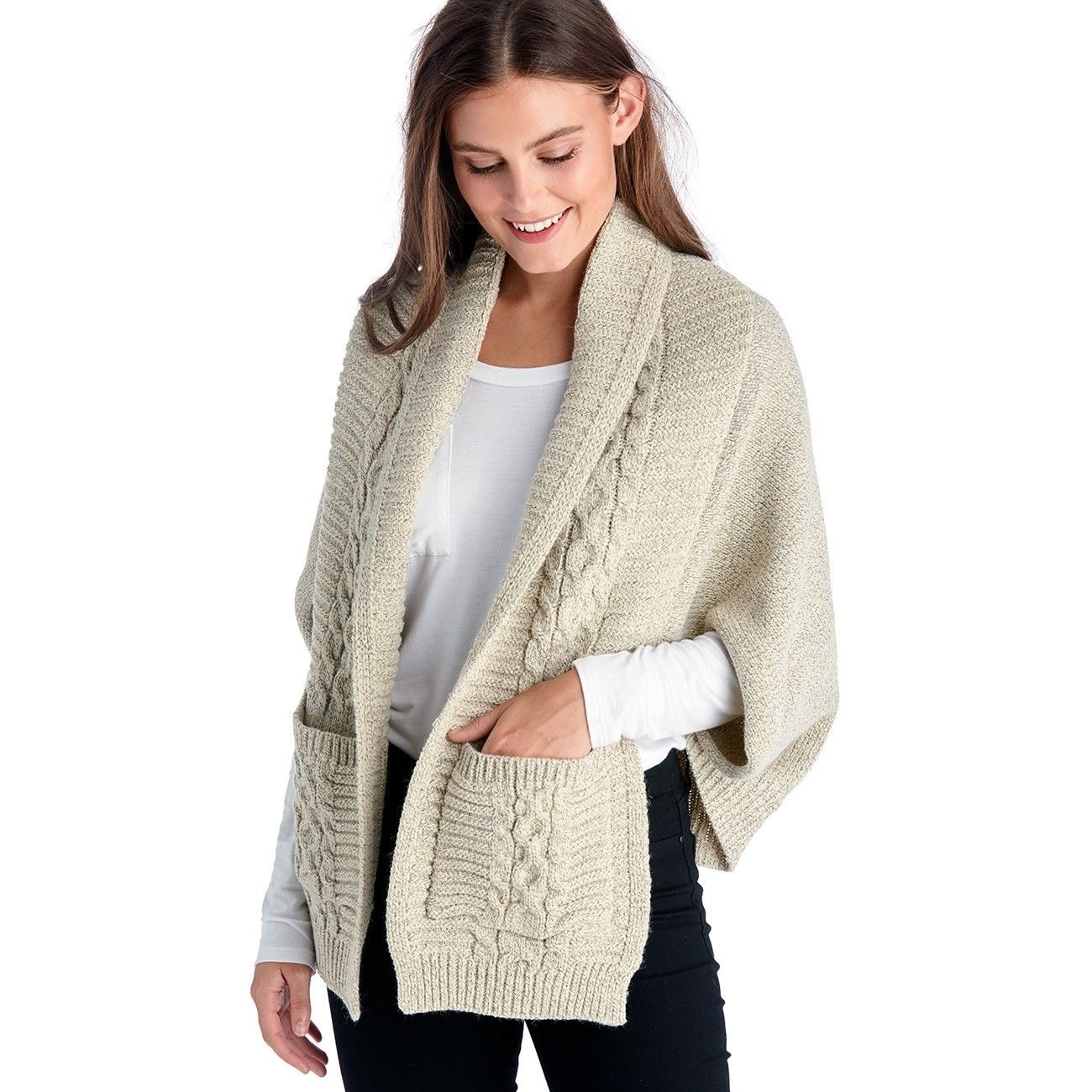 Cable Knit Shrug Cardigan Products Pinterest Knit Shrug Shrug
