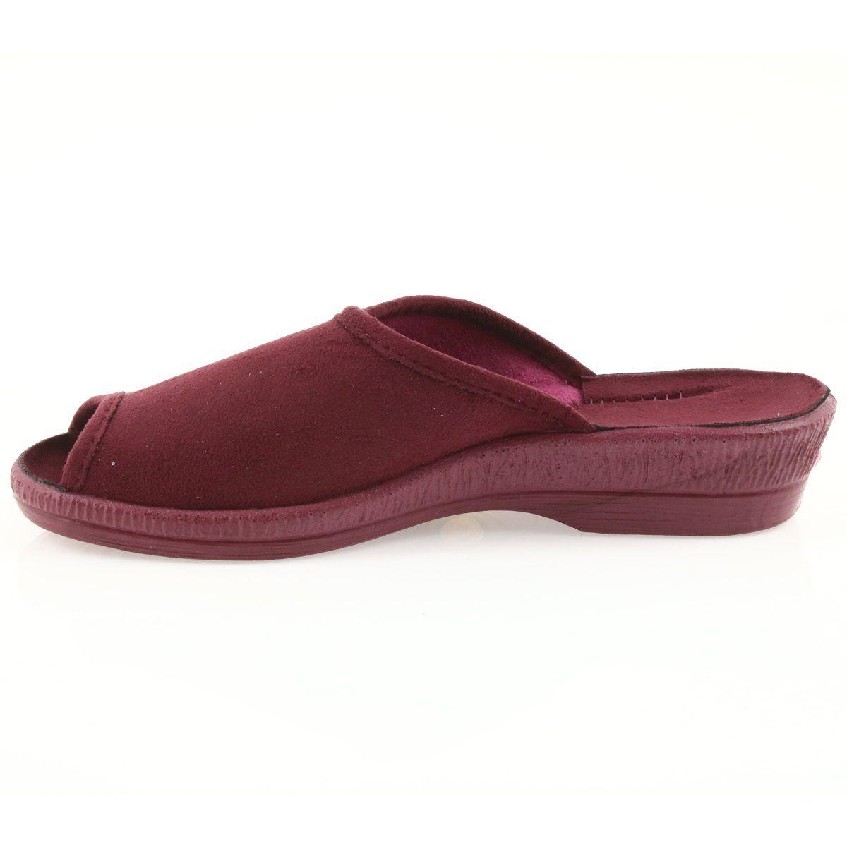 Befado Kapcie Buty Damskie Pu 581d193 Klapki Czerwone Shoes Slip On Sneaker Sneakers