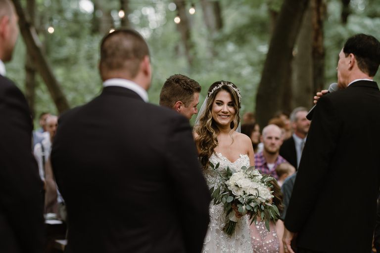 Wedding in the Woods | Outdoor wedding venues, Wisconsin ...