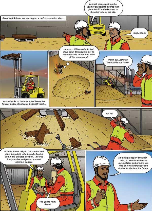 Forklift Safety Work Pie Pinterest Safety And Cartoon