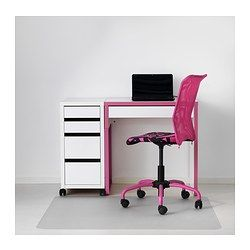 micke desk white pink 28 3 4x19 5 8 ikea caroline pinterest micke desk desks and. Black Bedroom Furniture Sets. Home Design Ideas