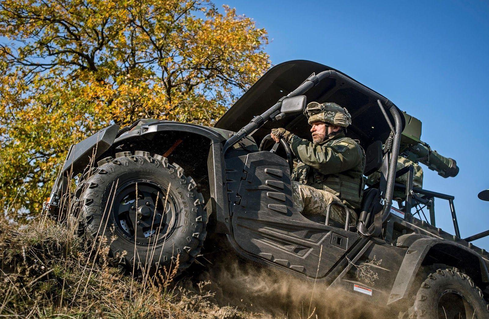 93 Ya Brigada Otrimala Vsyudihodi Utv Dlya Ptrk Stugna Army Truck