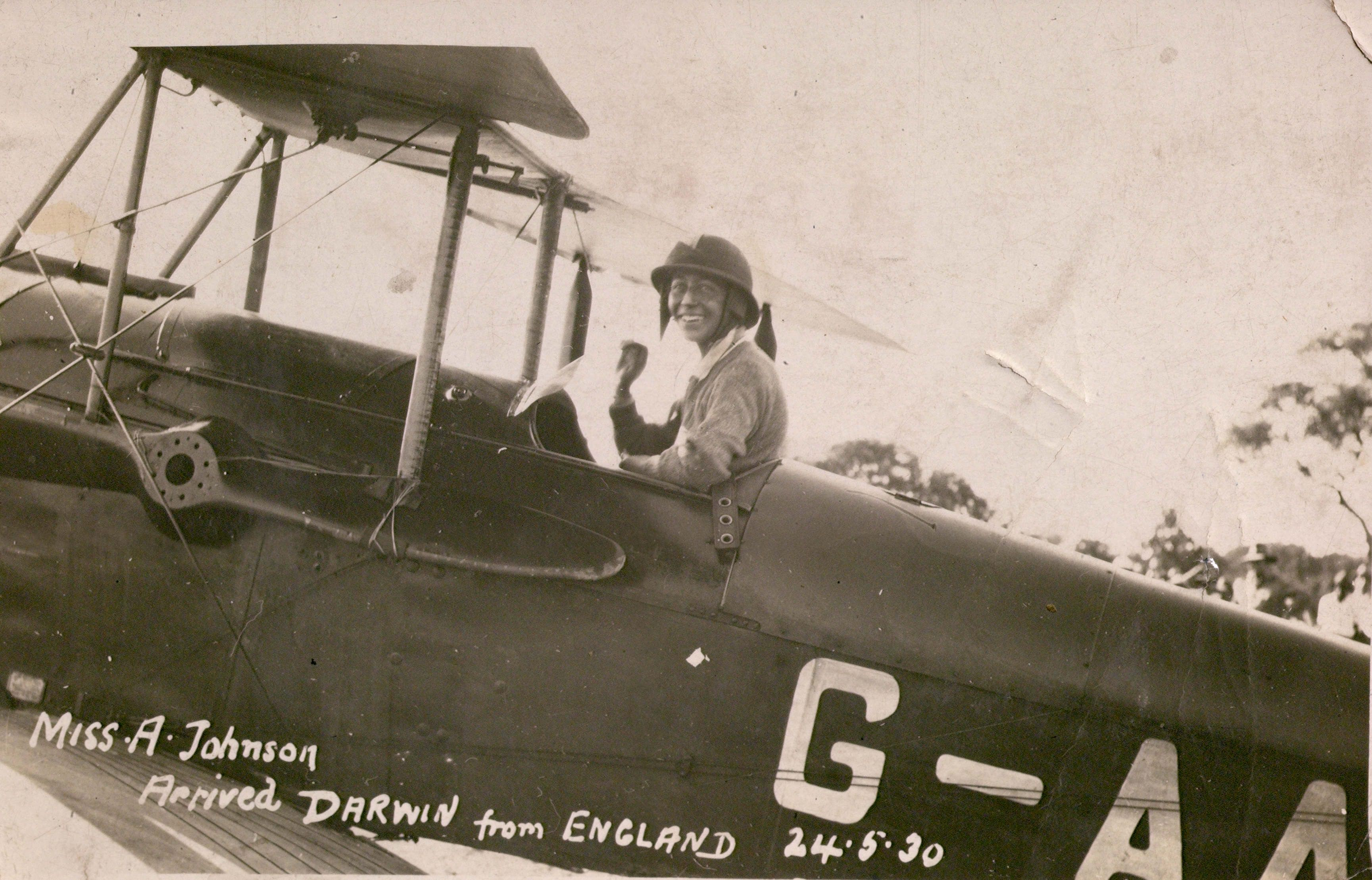 Image result for amy johnson plane