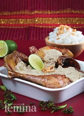 Ayam Pinadar Femina Makanan Resep Masakan Indonesia Resep Makanan