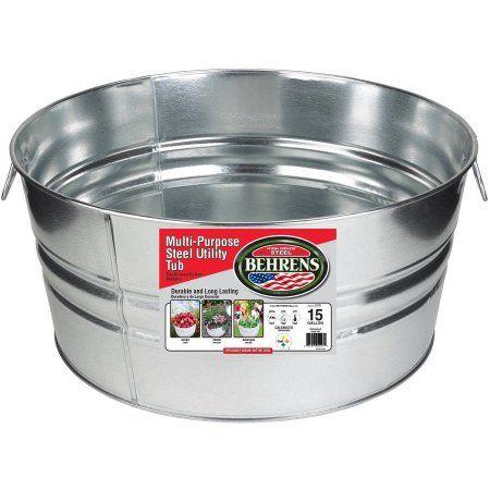 Industrial Scientific Galvanized Wash Tub Galvanized Tub Wash Tubs