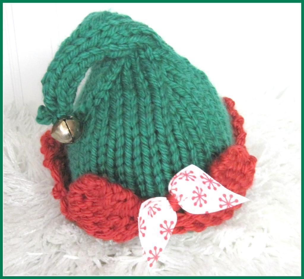 Elf Hat Knitting Pattern $4.50 | Knitting & Crochet | Pinterest ...