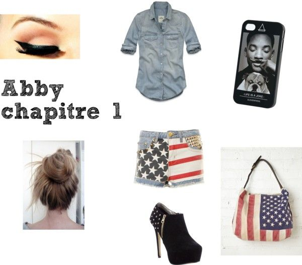 """""""Abby chapitre 1"""" by misscamille-972 ❤ liked on Polyvore"""