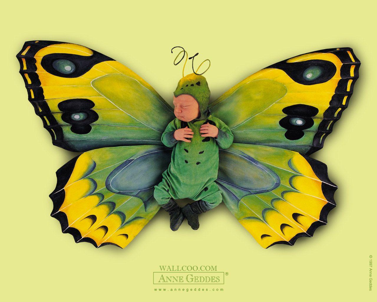 Anne Geddes Butterfly Dolls