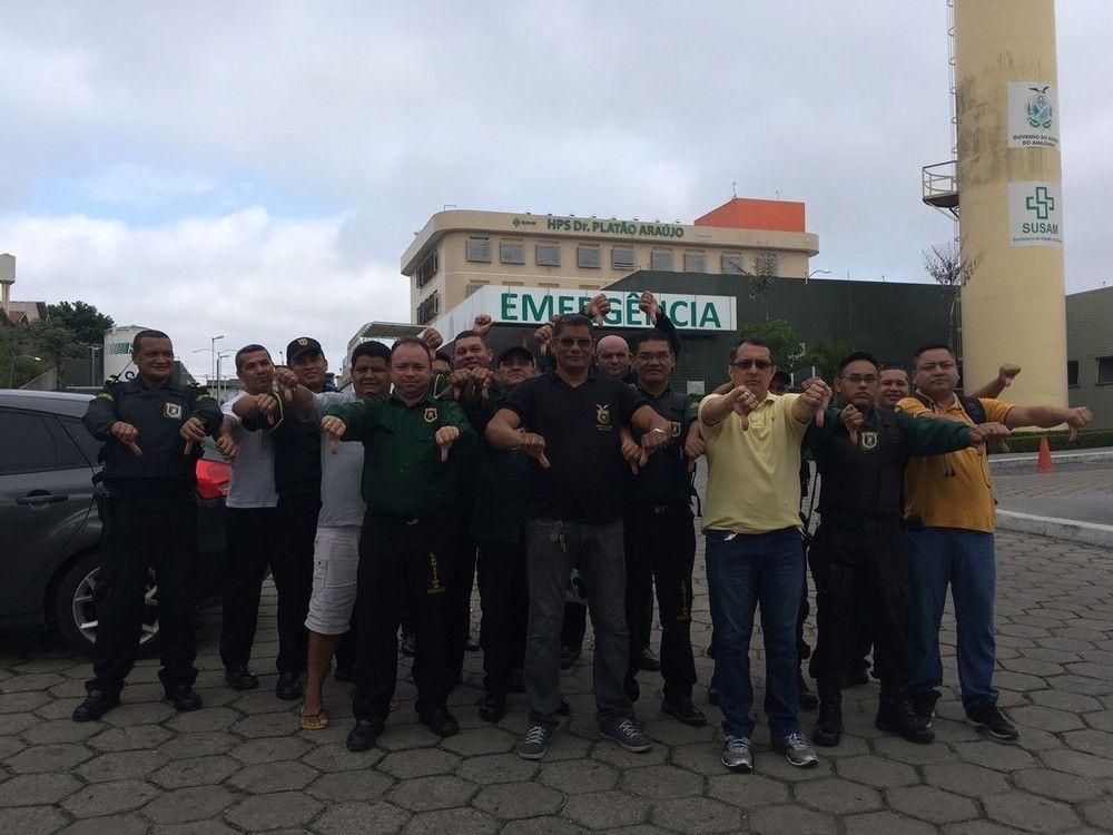 Vigilantes do Platão Araújo cruzam os braços por falta de pagamento ... 783083803c5e1