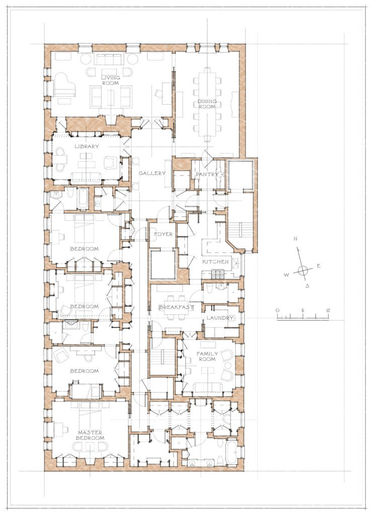 Pin By Alan R Erwin On New York Apartments Architectural Floor Plans Hotel Floor Plan Apartment Floor Plans