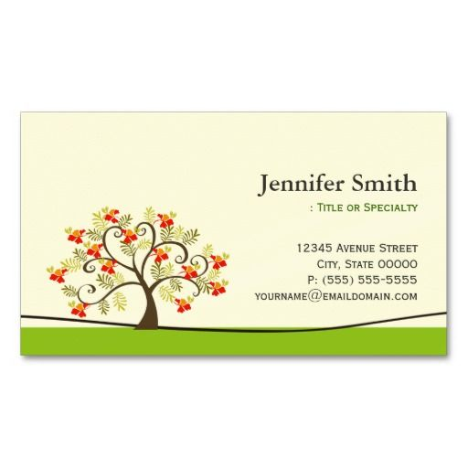 Elegant swirl wish tree symbol appointment business card template elegant swirl wish tree symbol appointment business card template cheaphphosting Image collections