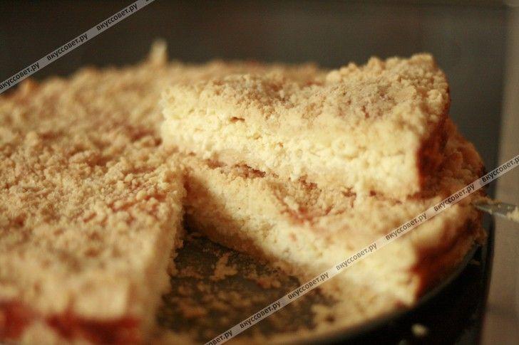 пирог с творогом рецепт пошаговый рецепт с фото