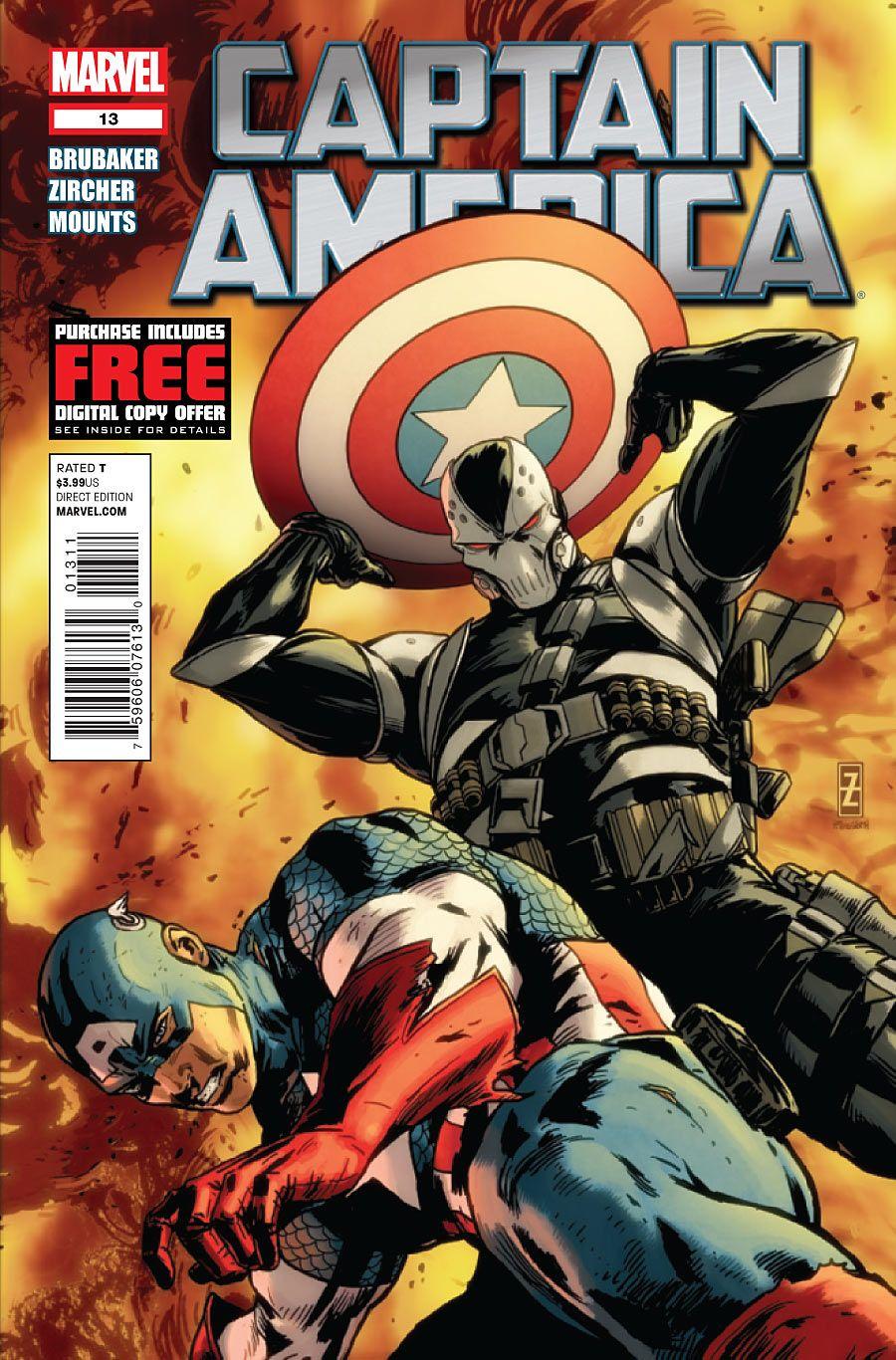 Captain America Vol 6 13 Marvel Captain America Captain America Comic Books Marvel Comic Books