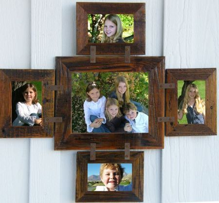 multiple picture frames wood. Unique Multi-picture Collage Picture Frames From All Barn Wood. Where Photo Meets Rustic Barnwood Frames. Multiple Wood F