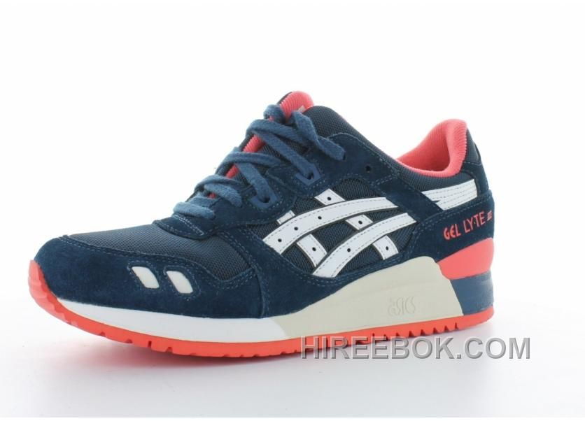 ASICS Gel Lyte III Light Grey Black Blue Nude Sneaker Bar