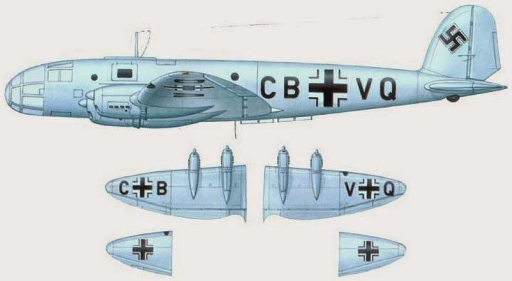 German Aircraft of WWII: Heinkel He 116