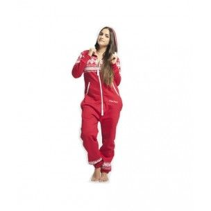 Red Polarpiece with Arctic Print - PolarPiece - Simply Canadian...for those cold winter nights
