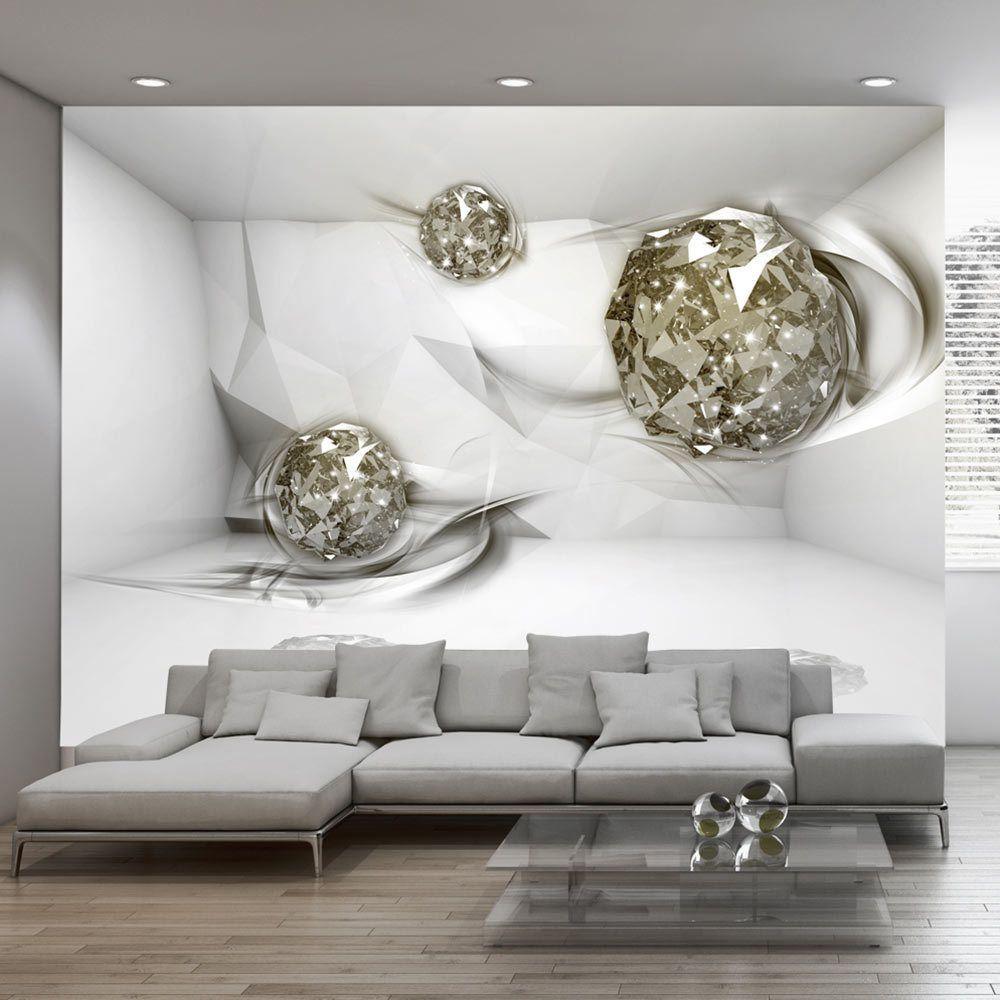 Vlies fototapete 3 farben zur auswahl tapeten abstrakt for Wohnung gestalten 3d