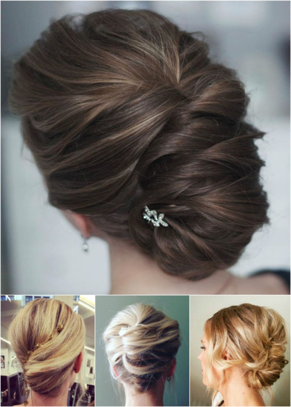 trendiest updos for medium length hair hair color pictures