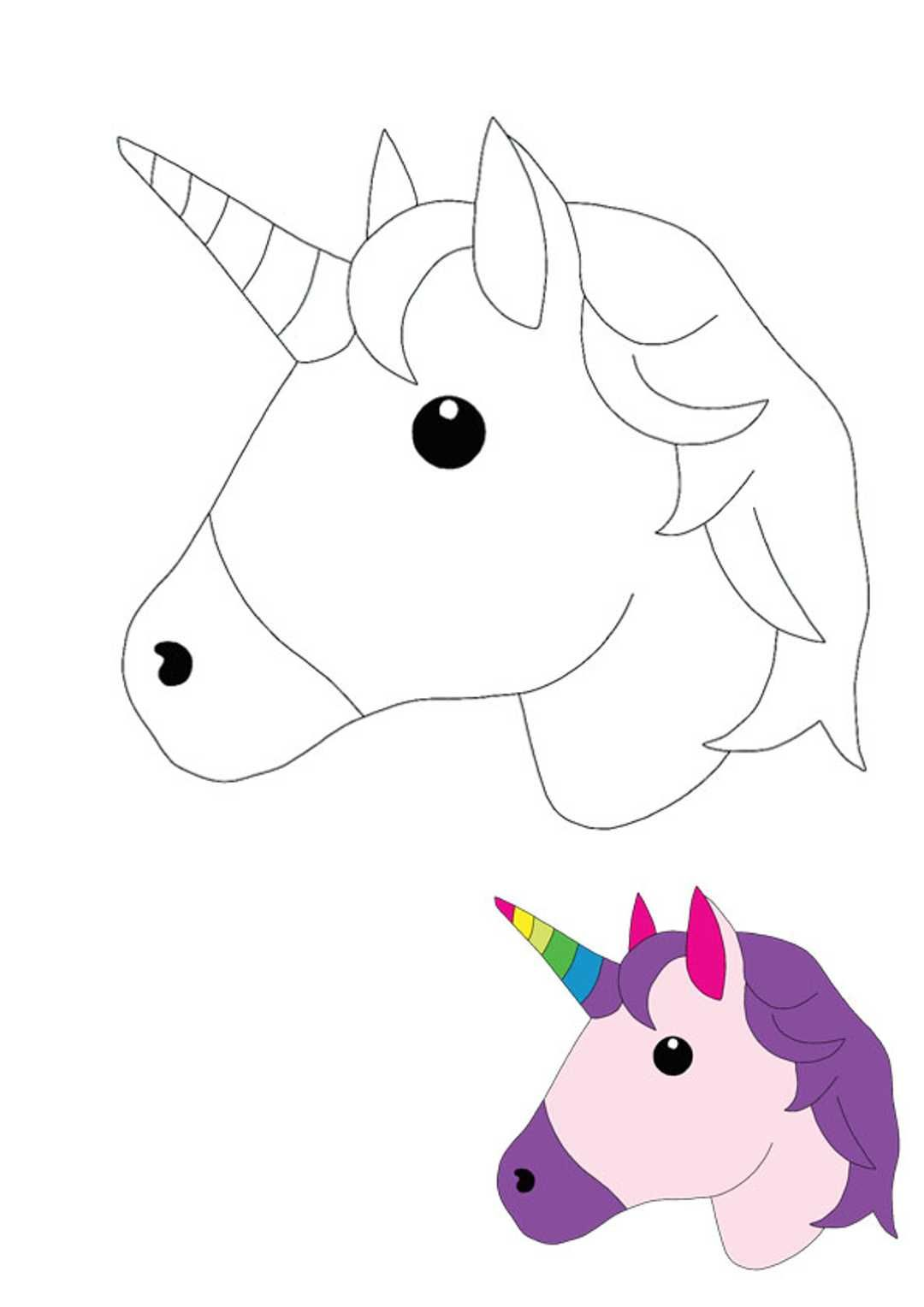 Unicorn Head Coloring Pages Mermaid Coloring Pages Coloring Pages Emoji Coloring Pages