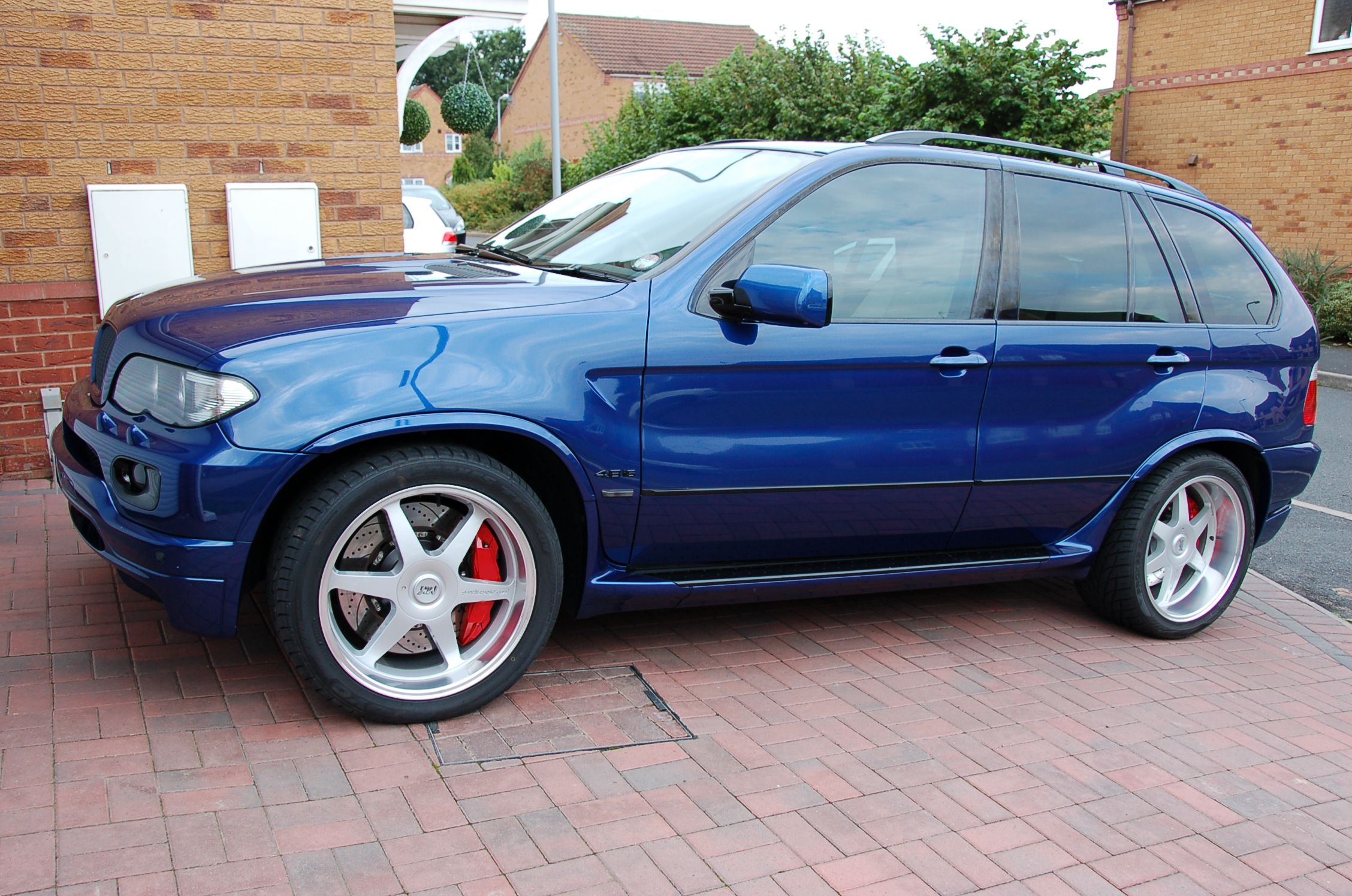Blog bmw x5 e53 with front and rear pb brakes
