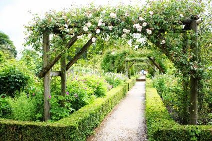 Janelle McCullochs Library Of Design The Most Beautiful Rose Garden In World Arbor