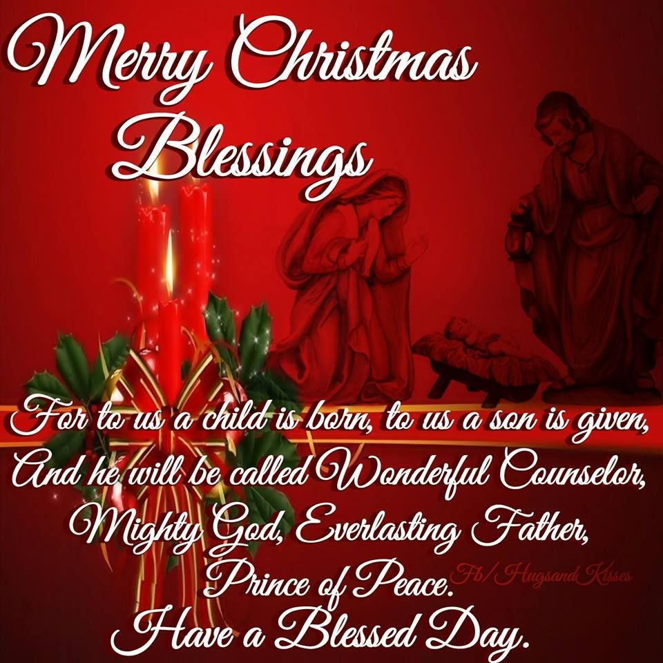 Religious Christmas Quotes New Christmas Blessings  Merry Christmas Blessings Pictures Photos