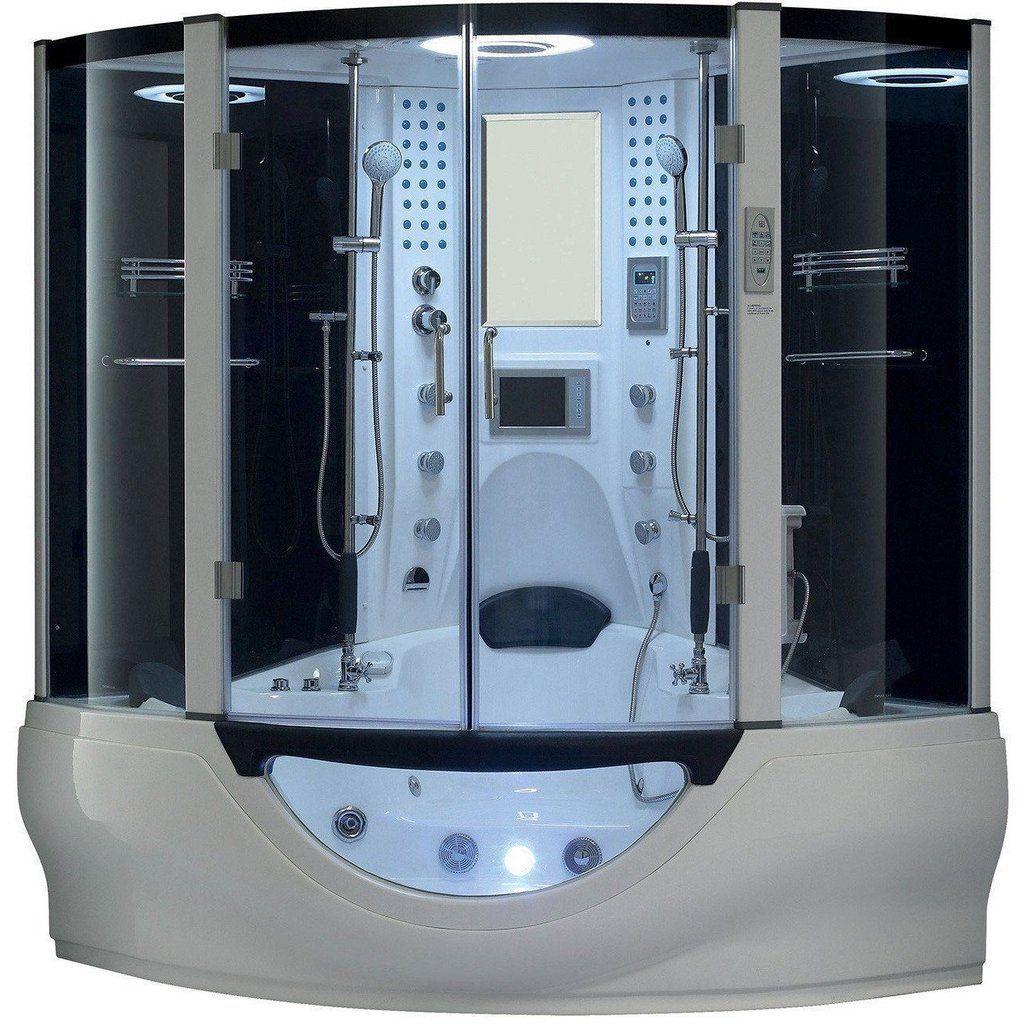 Flash Sale Maya Bath Valencia Computerized Steam Shower 106