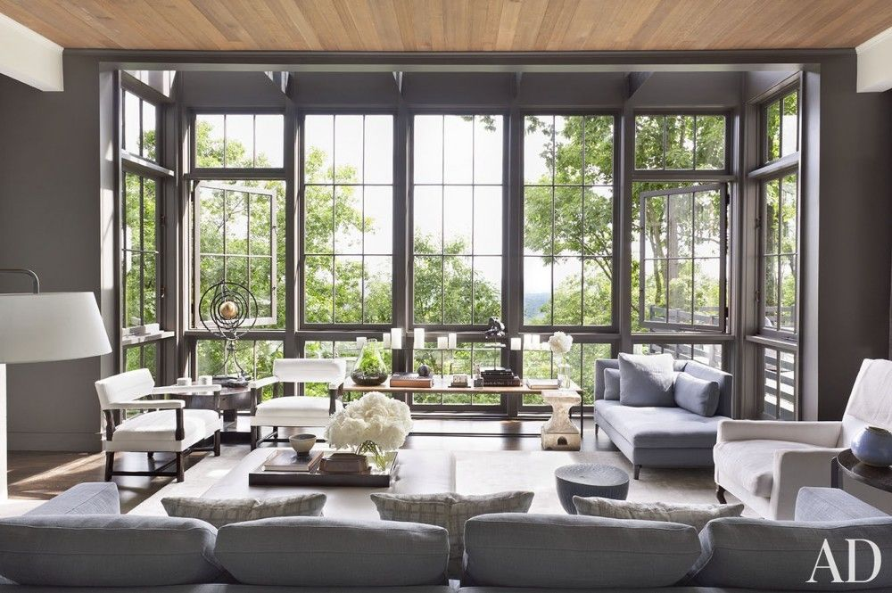Best Modern Living Room By Ray Booth In Nashville Tn Family 640 x 480