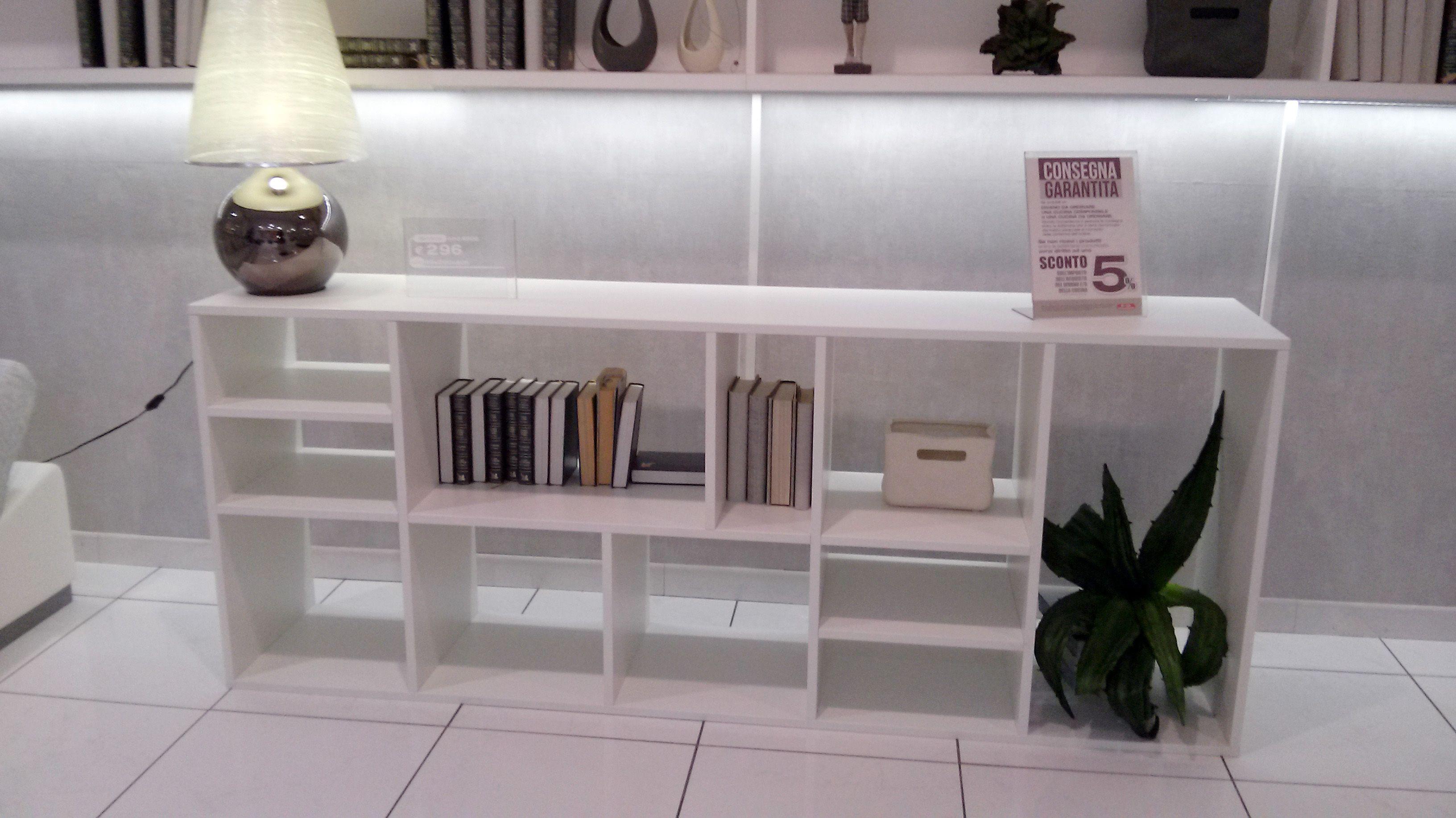 libreria mondo convenienza 296€ | Idee per la casa | Pinterest