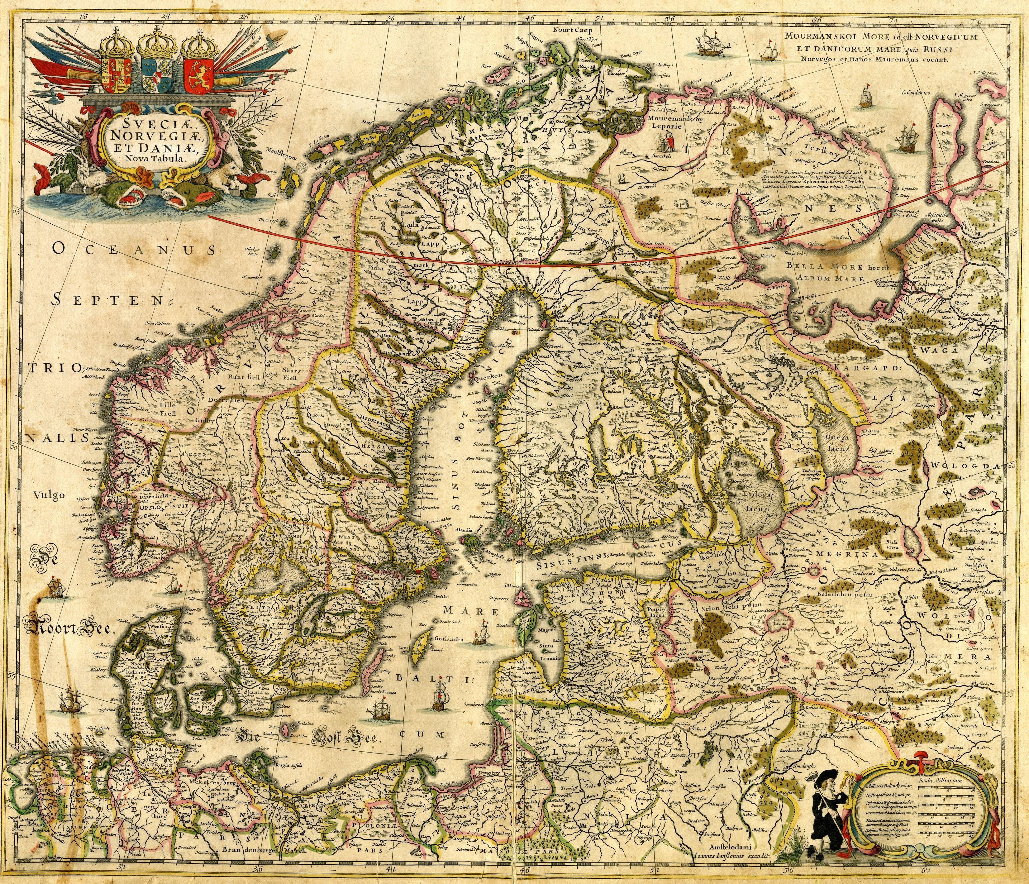 Image result for Scandinavia medieval map