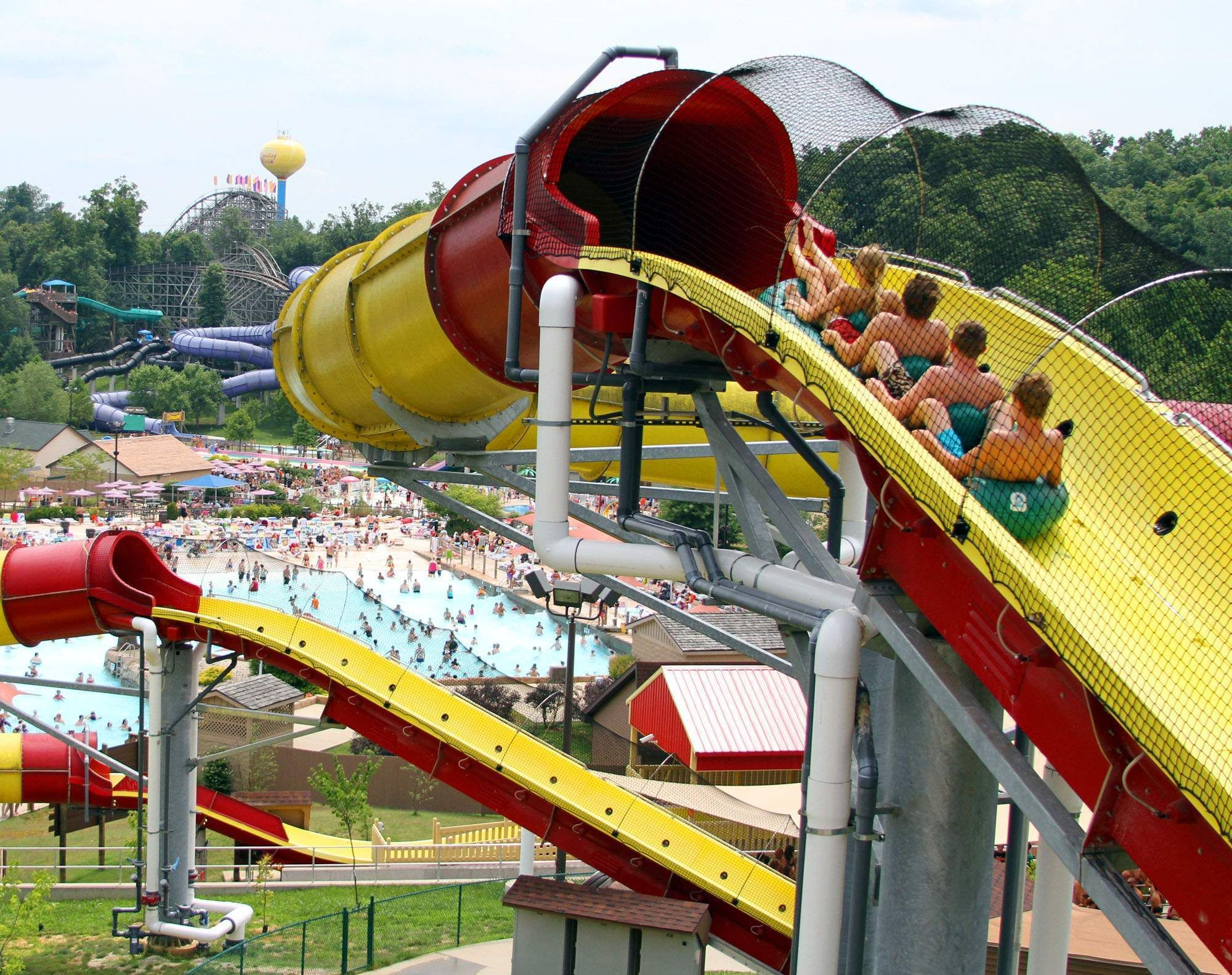 wildebeest water coaster water park rides park and