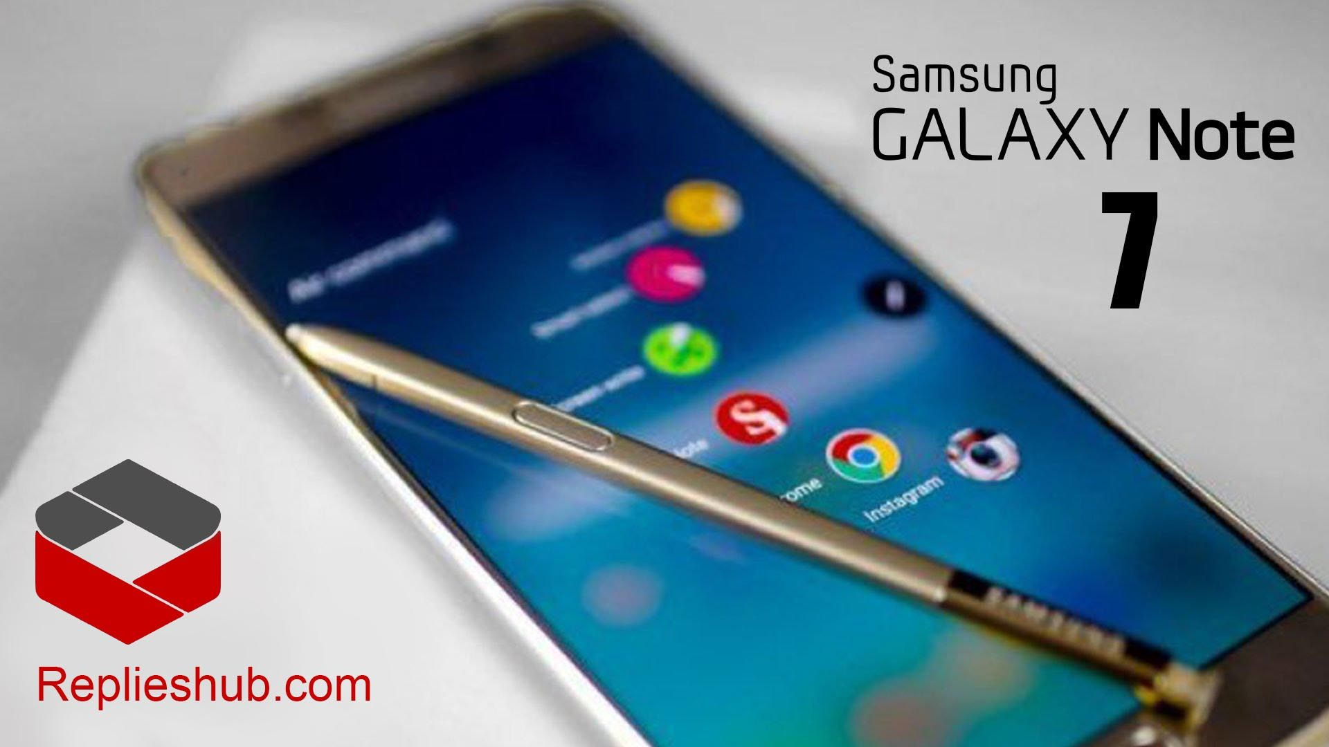 Samsung Galaxy Note 7 : First Look