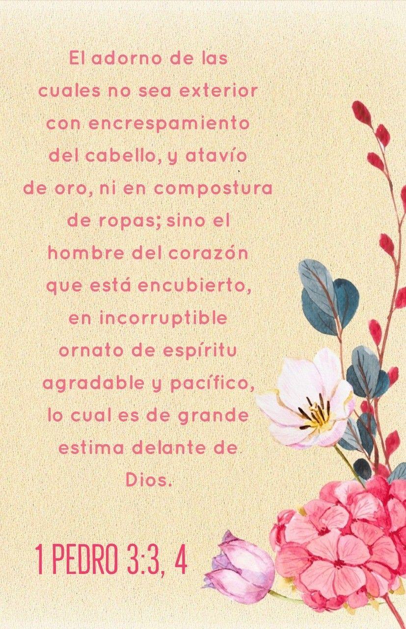 1 Pedro 3 3 4 El Ornato Celestial