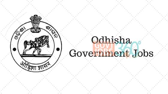 Odhisha Government Jobs