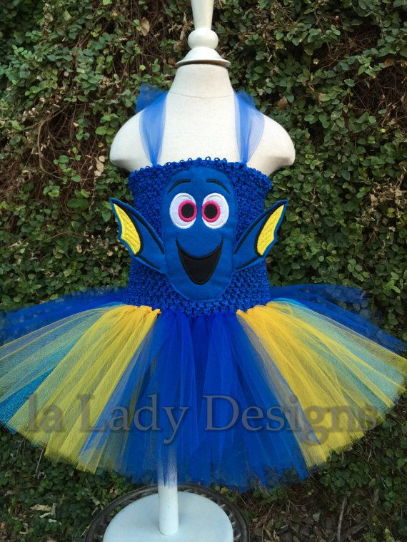 Dory ReAdY To SHiP TuTu Dress baby 6 to 18 month by laLadyDesigns - 18 month halloween costume ideas