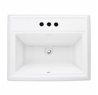 Buy The American Standard White Direct. Shop For The American Standard  White Town Square Drop In Fireclay Bathroom Sink And Save.