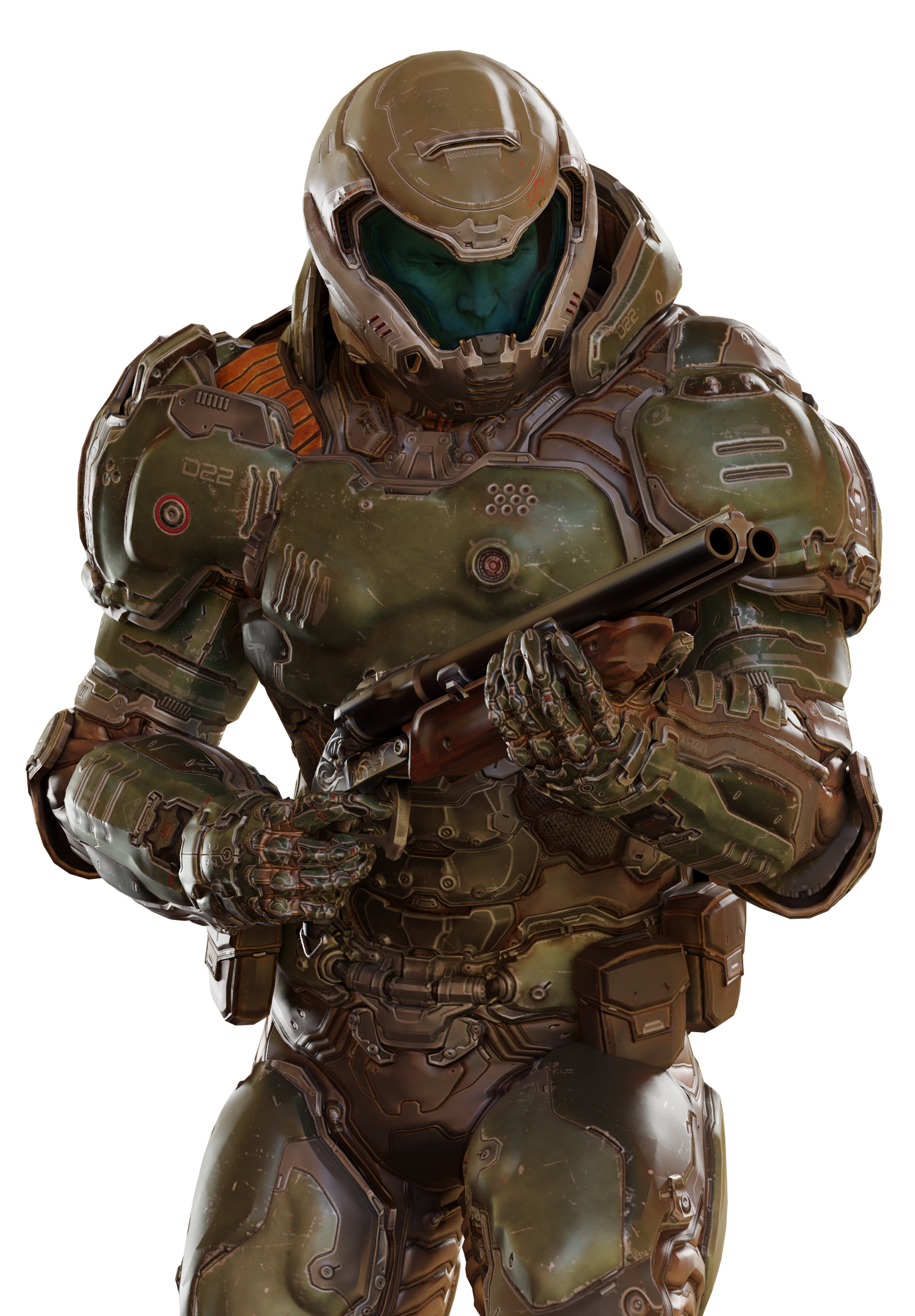 Doom Slayer Fixed His Materials For The Last Time I Hope Doom